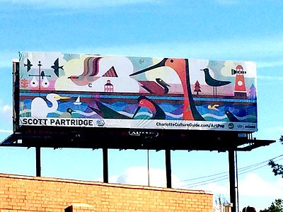 scott partridge illustration - charlotte artpop 2017 - billboard