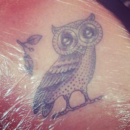 Athena Symbol Tattoo Athena Owl Tattoo