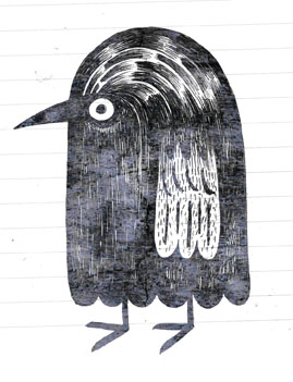 bird sketch - scott partridge