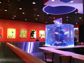 the cowfish - raleigh - interior