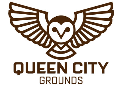 Scott Partridge - Logo Design - Queen City Grounds