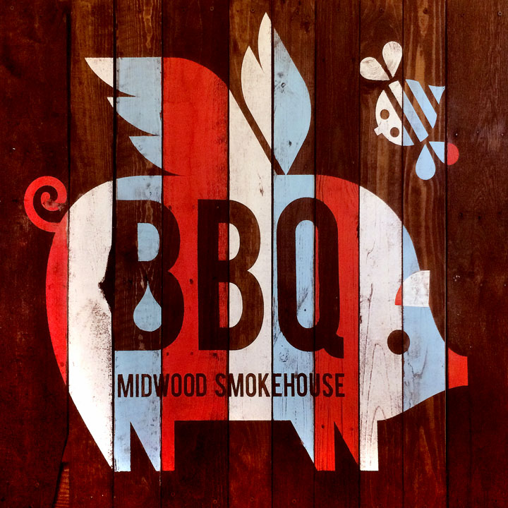 scott partridge - midwood smokehouse - pig art