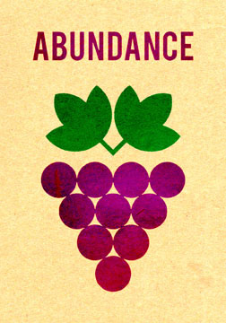 scott partridge - manifestation card - abundance