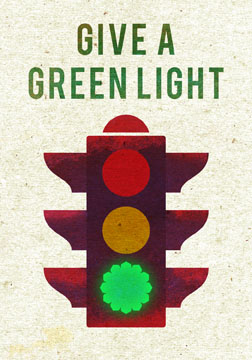 scott partridge - manifestation card - give a green light