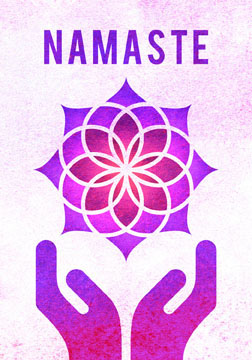 scott partridge - manifestation card - namaste