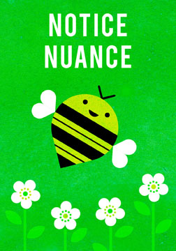 scott partridge - manifestation card - notice nuance