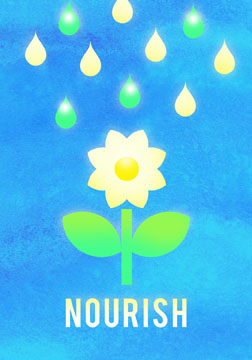 scott partridge - manifestation card - nourish