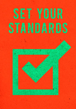 scott partridge - manifestation card - set your standards