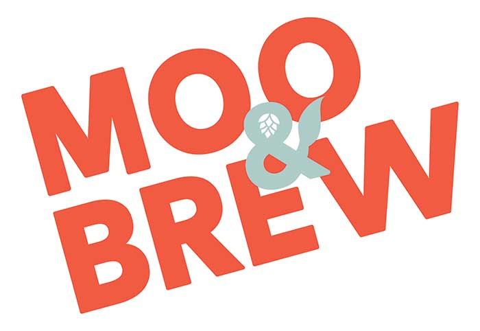 moo and brew logo