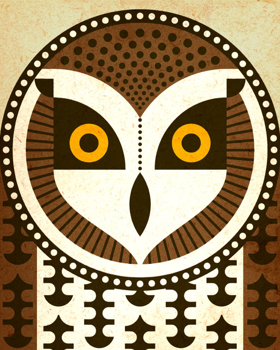 Scott Partridge - Illustration - Short Eared Owl