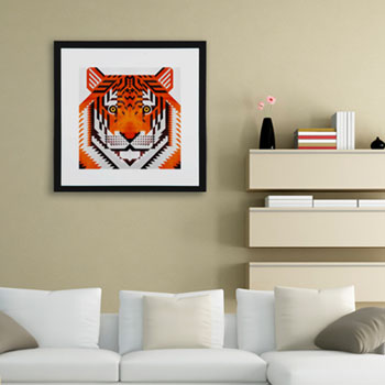 tiger - scott partridge illustration - curioos