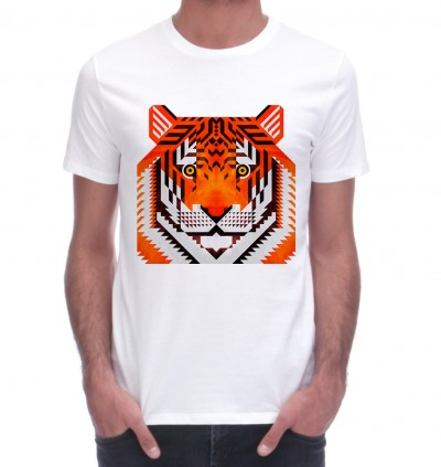 tiger - scott partridge illustration - tee shirt - monsieur t shirt