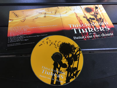 thistledown tinkers album art - bring on the dawn